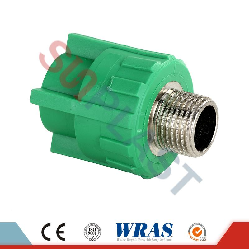 Male DIN8077 PPR Coupler